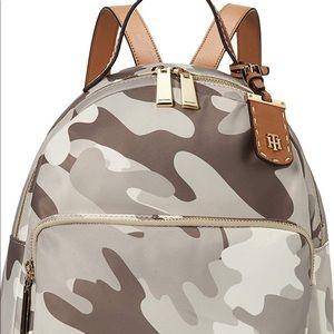 Tommy Hilfiger women's camo backpack Julia